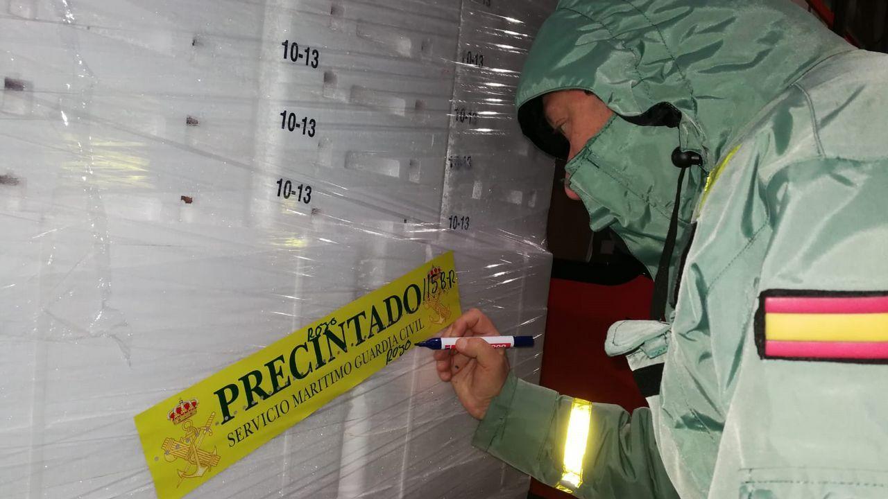Inmobilizadas 153,5 toneladas de cigala sin garantías sanitarias.La comisionada nació en Valencia, pero su familia es originaria de Galicia
