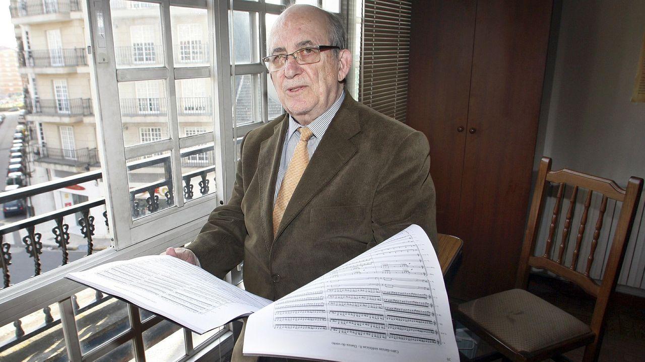 El catálogo de obras de Rogelio Groba supera las setecientas composiciones