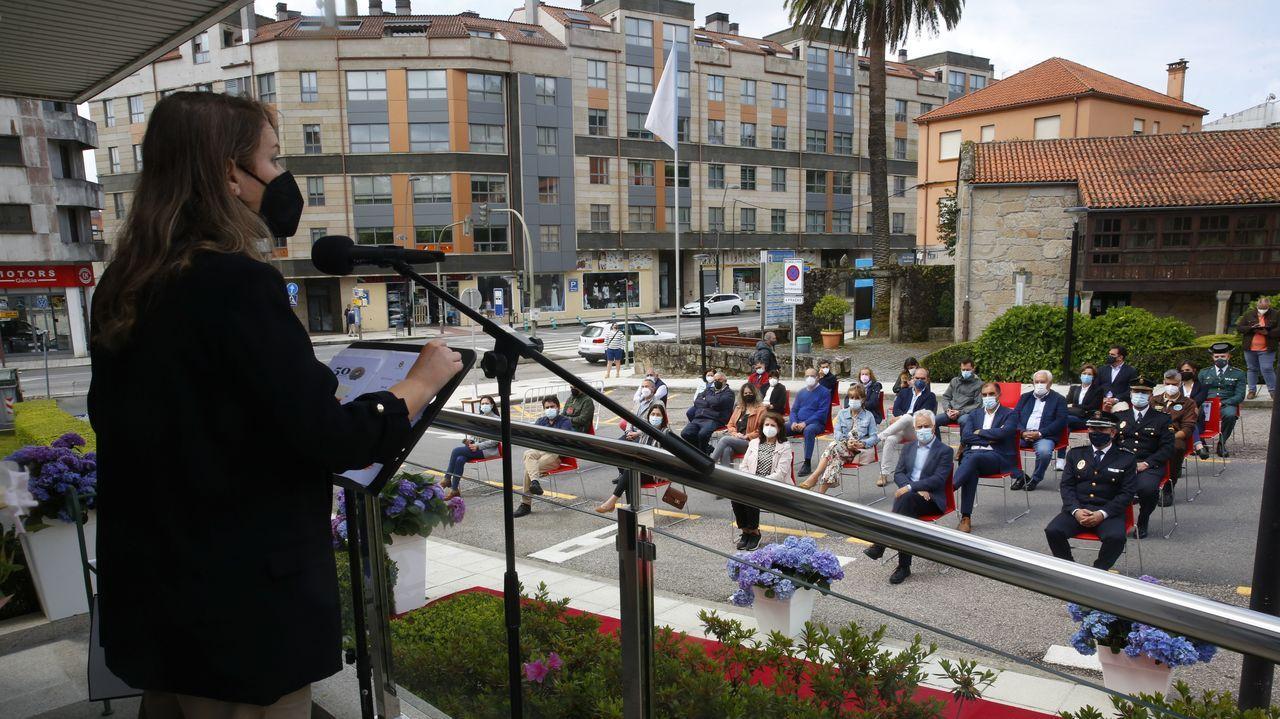Actos de conmemoración de los 50 años de la creación de la Policía Local de Poio