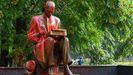 Estatua de Indro Montanelli atacada por activistas antirracistas
