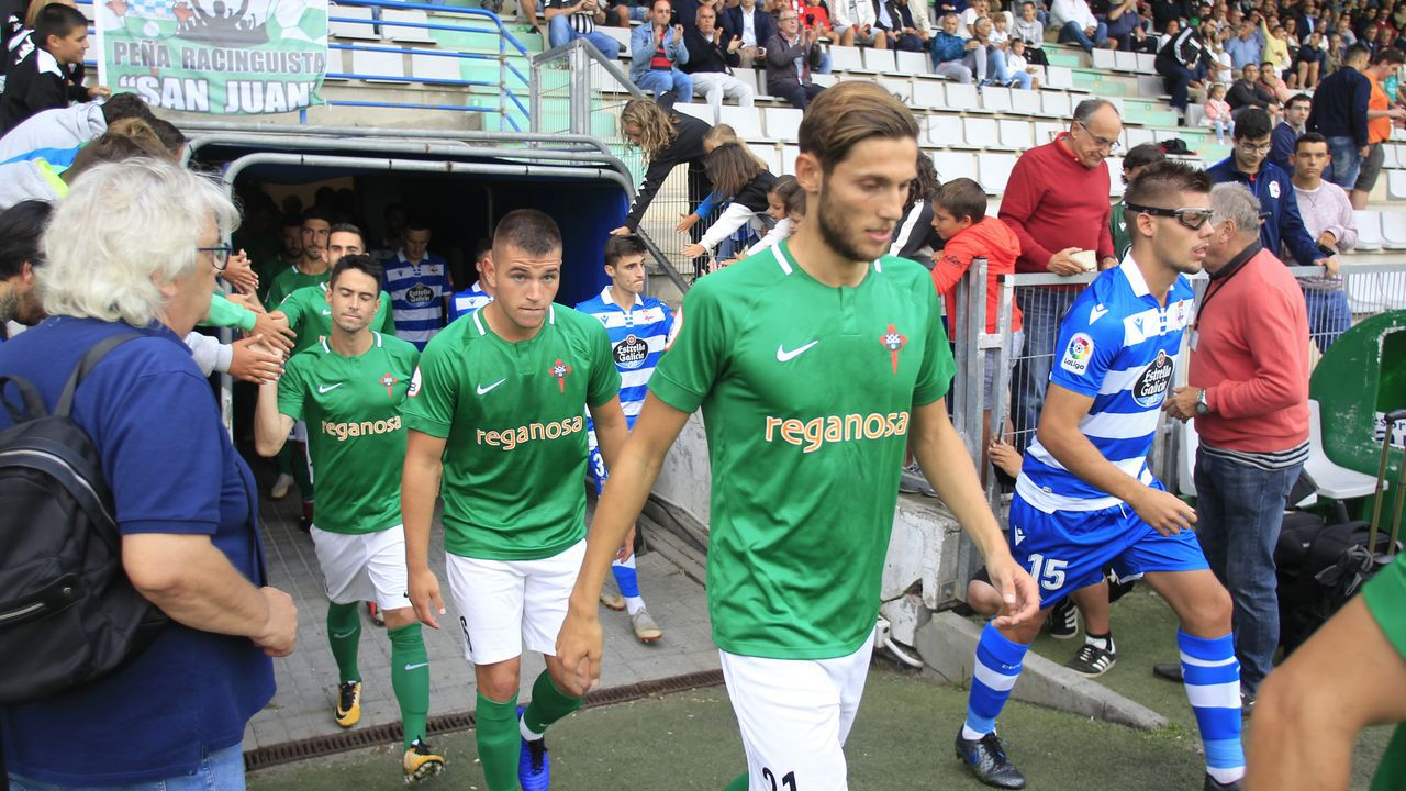 El Racing de Ferrol vence al Deportivo en los penaltis y gana el memorial Moncho Rivera