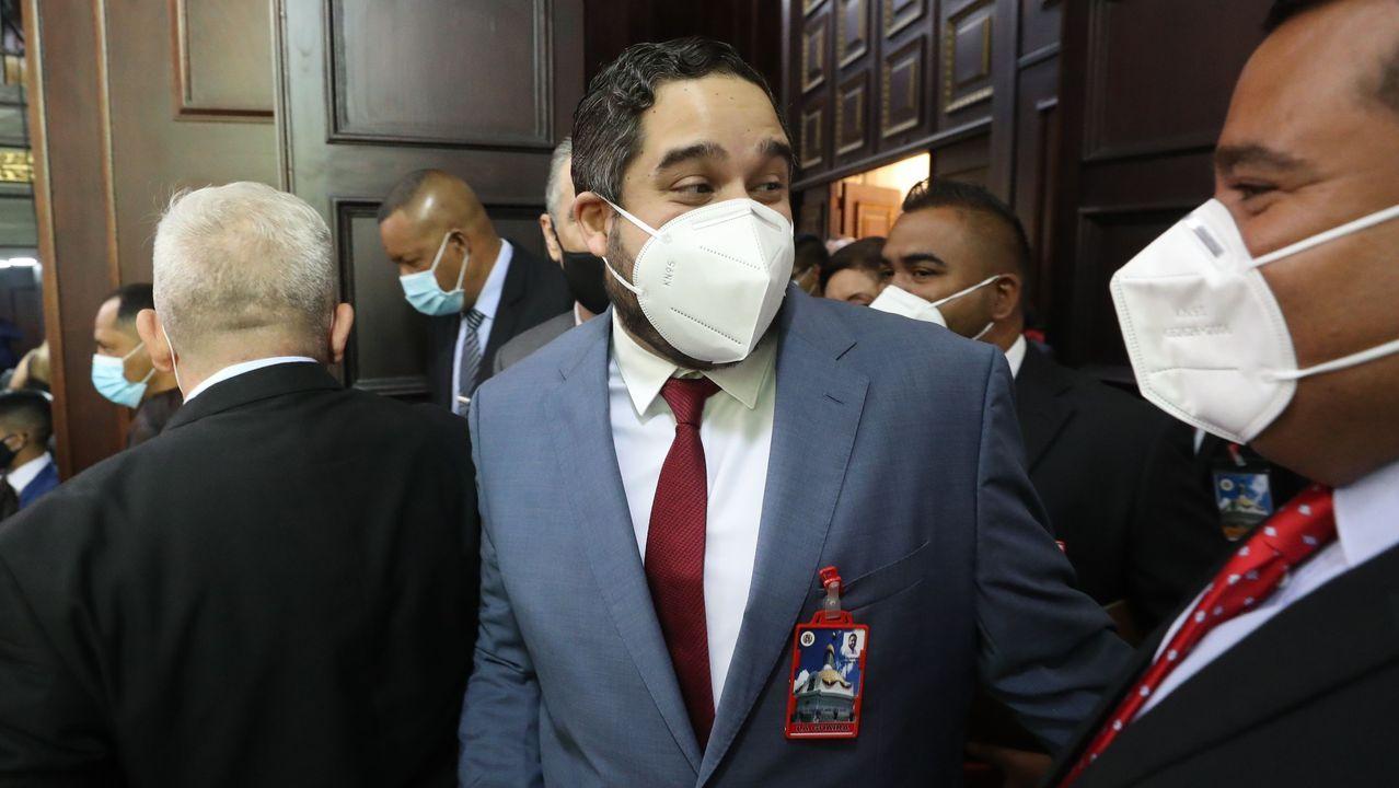 Nicolás Ernesto Maduro Guerra, hijo del presidente venezolano, ayer en el Parlamento