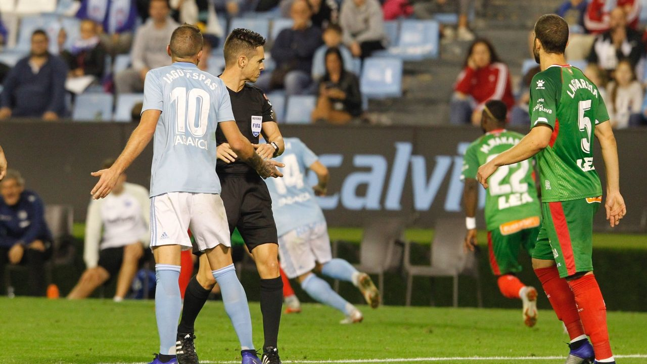 288 - Celta-Alavés (0-1) en Primera el 19 de octubre del 2018
