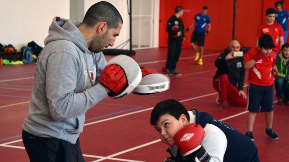 Campeonato de Boxeo infantil en Palmeira