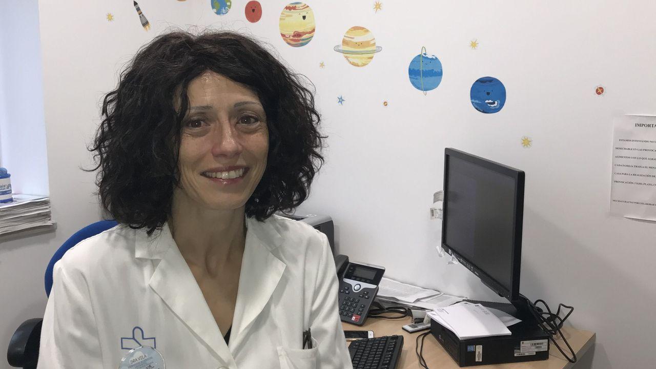 Leticia Vila, pediatra del Chuac