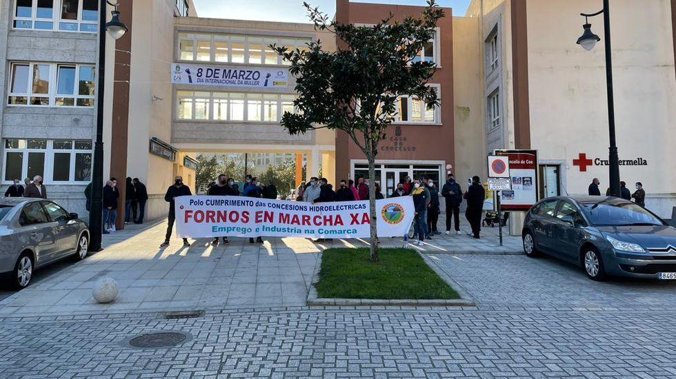 Una de las movilizaciones del comité, en el mes de marzo
