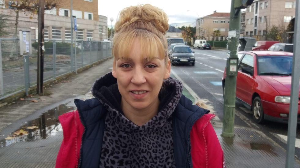 Yolanda González, posiblemente la última mujer que dé a luz en el Hospital de Verín