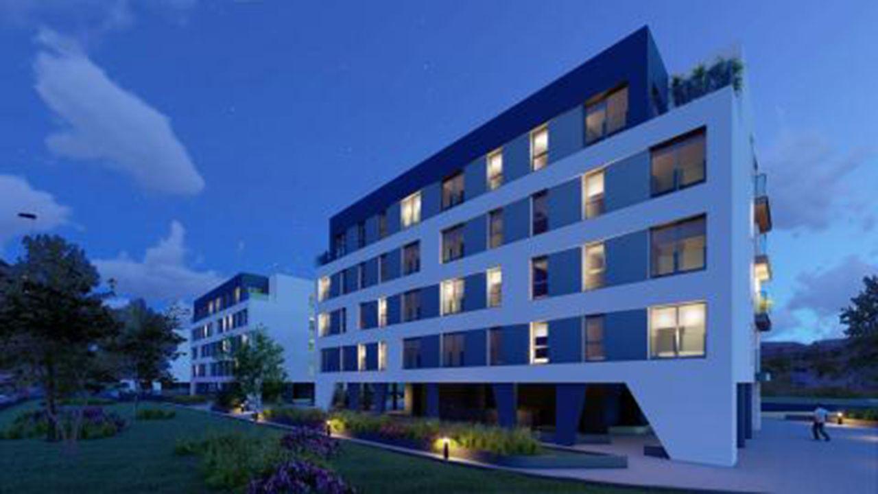 Promoción de pisos en La Florida, Oviedo