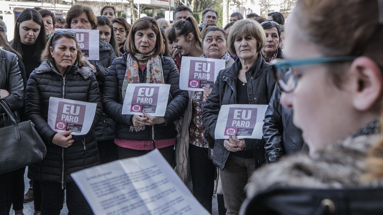 Un grupo de trabajadoras en nel Dia Internacional de la Mujer