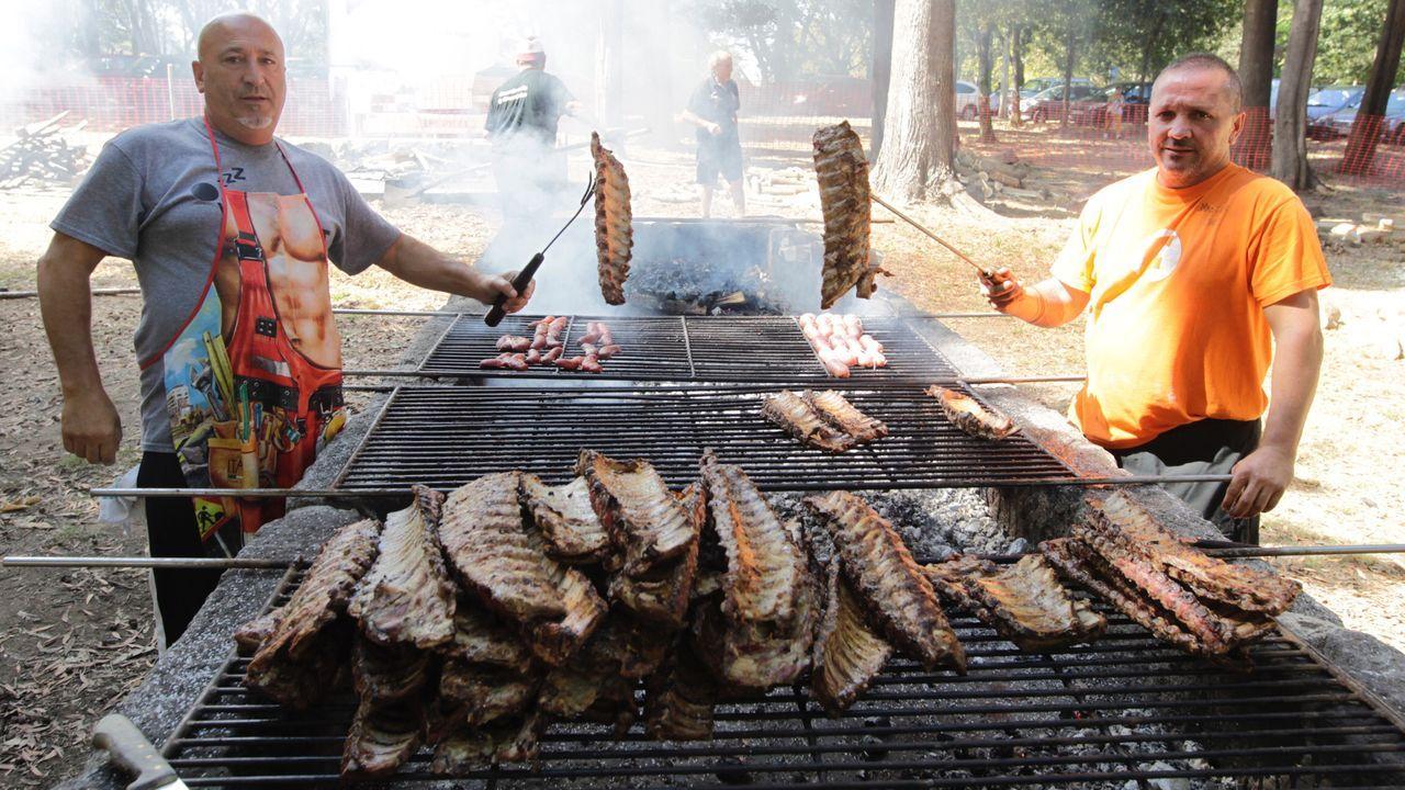 Trabajos de extinción de un incendio en Oímbra.La tarjeta de eurociudadano fue presentada en 2012 por los entonces alcaldes, Joao Gonçalvez y Juan Manuel Jiménez