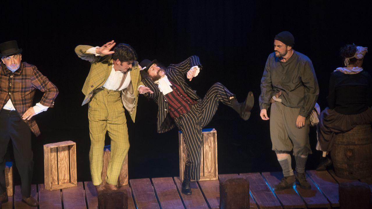 «Ubu Rei», de Talía Teatro
