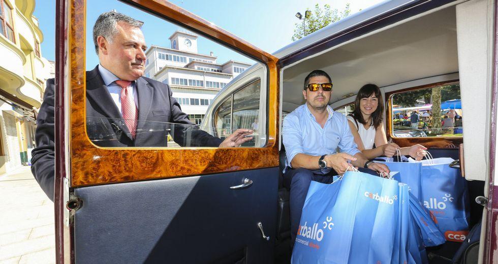 Dos mil euros gastados en 120 minutos en Carballo.Mas de 120 automóviles se mostraron en el Ifevi.