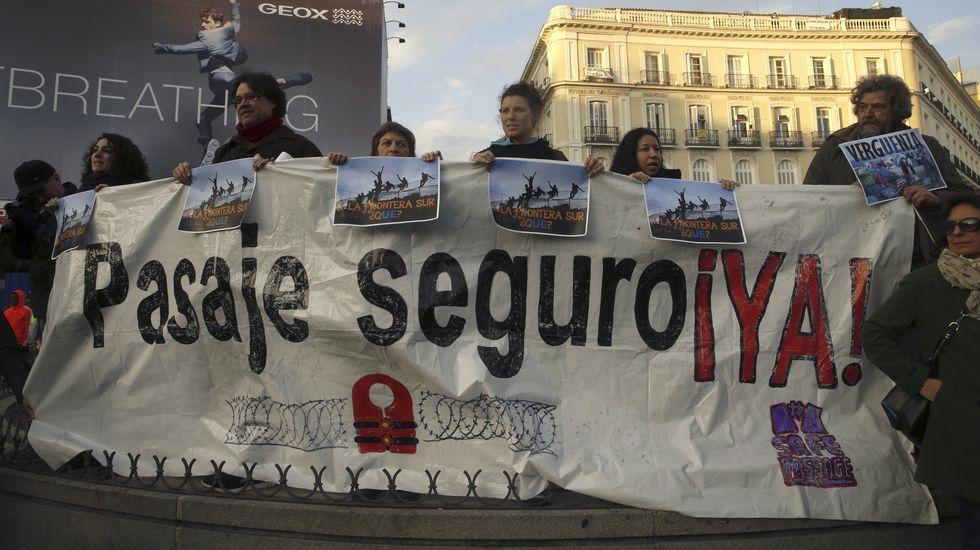 Miles de personas en toda España muestran su rechazo al acuerdo de la UE con Turquía