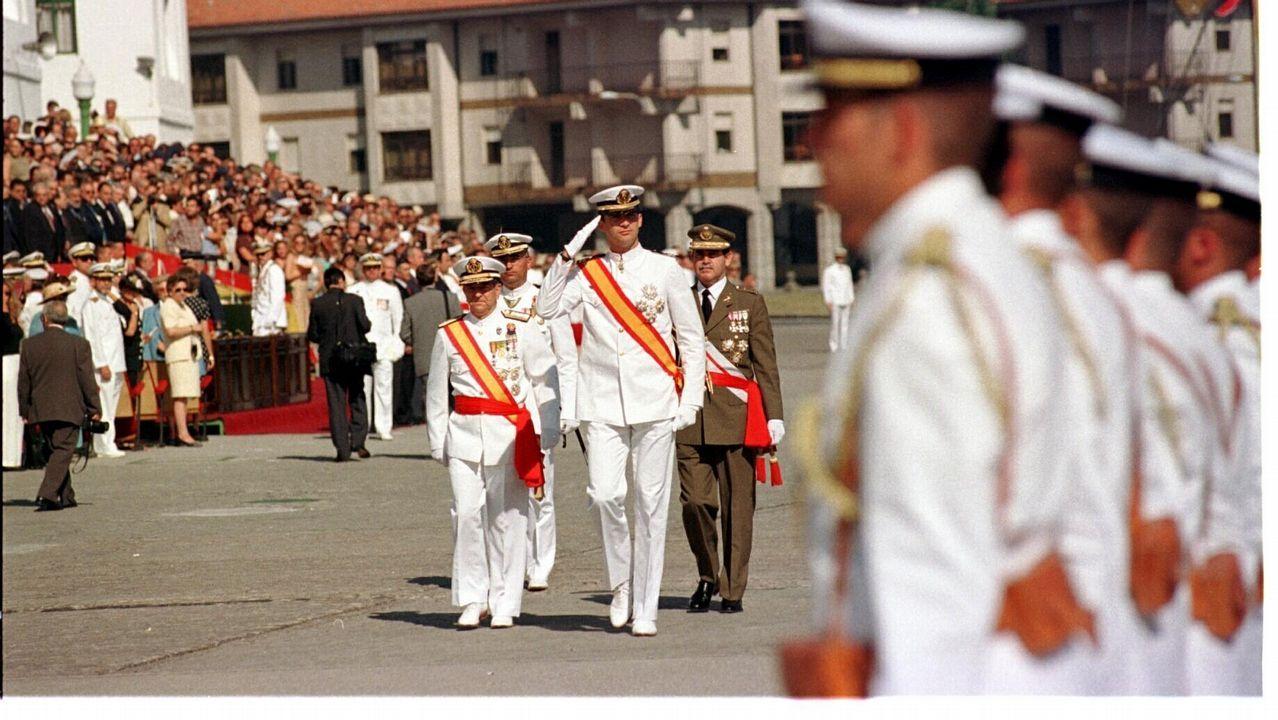 Felipe VI agradece a Don Juan Carlos su «compromiso» y «lealtad».Belinda Alonso, mujer de Ángel Nieto