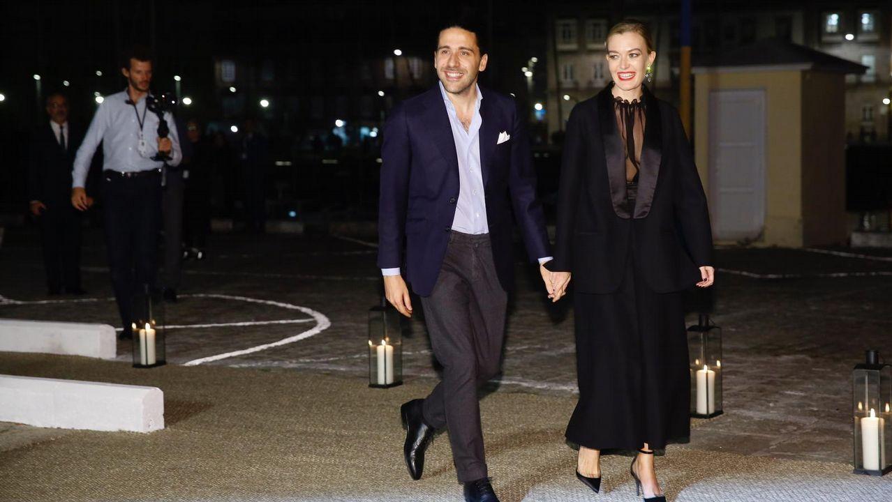 La arquitecta Elsa Urquijo y su pareja Andrés Conde