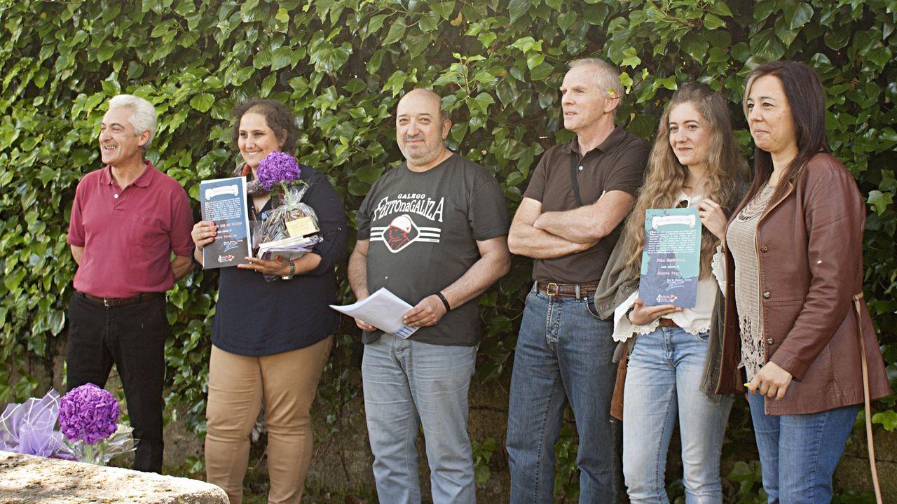 Imagen durante la entrega de premios del concurso, en una edición pasada