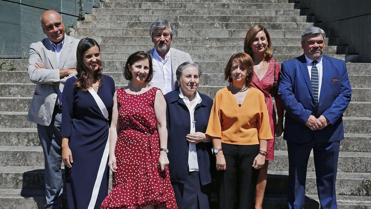 Los distinguidos por Amigos de Pontevedra en la edición del 2018