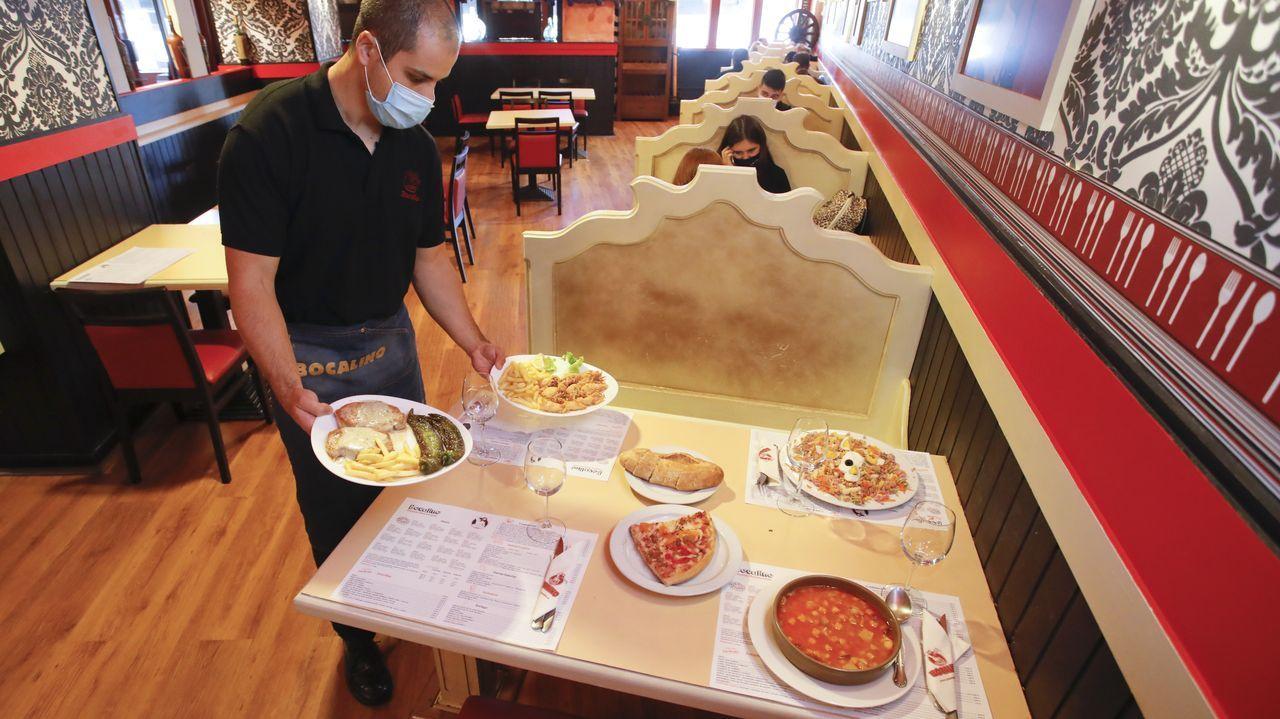 La pizzería Bocalino también ofrece menú del día por 9,70 euros
