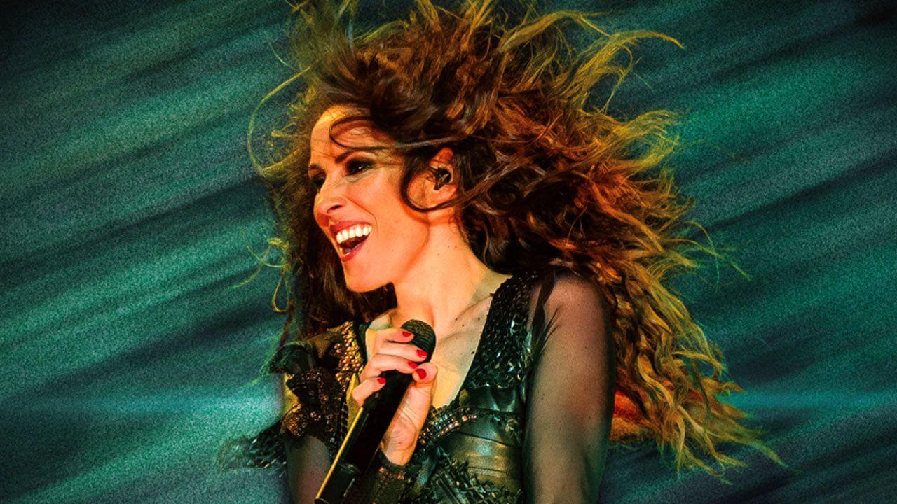 Malú, en una imagen promocional de su álbum «Oxígeno»