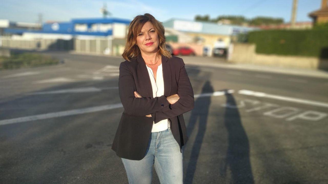Patricia Martín Velasco, portavoz del Grupo Municipal Ciudadanos-Siero