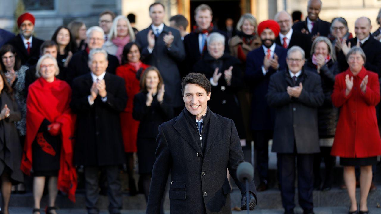 Trudeau ha introducido siete caras nuevas en los 36 ministerios que forman su Gobierno