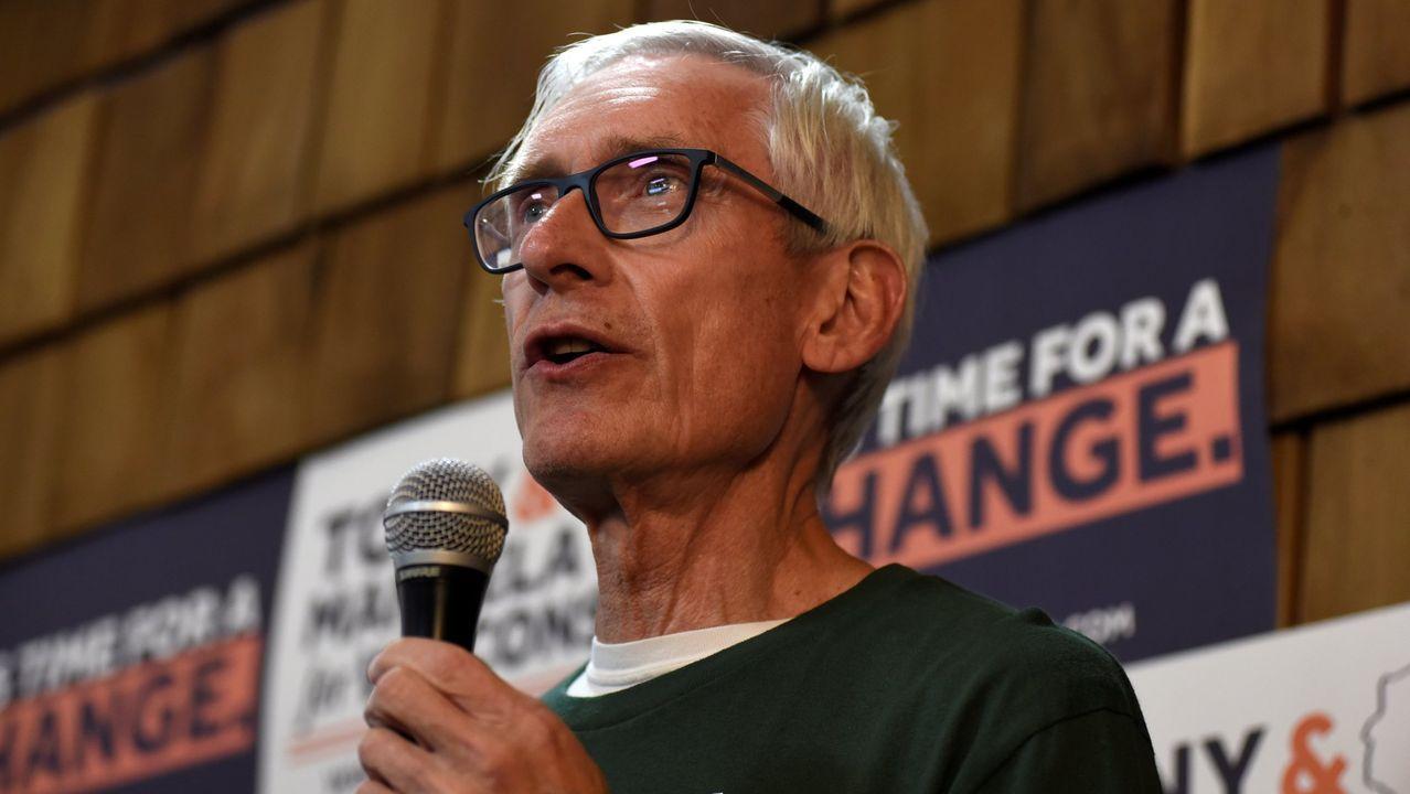 El gobernador de Wisconsin, el demócrata Tony Evers