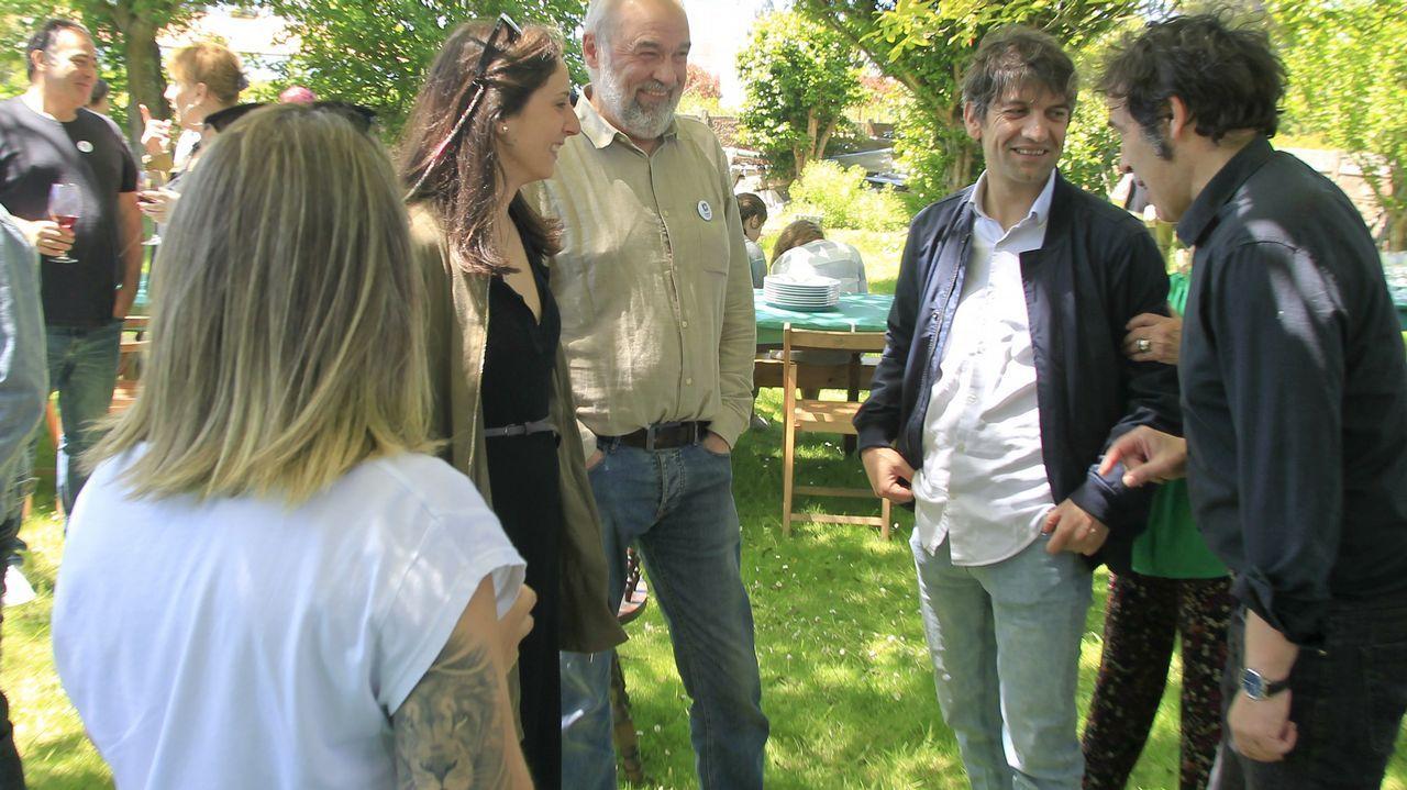 Jorge Suárez compartió una comida campestre con miembros de FeC.