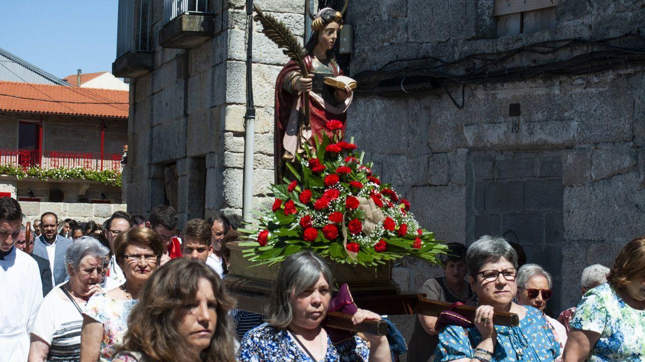 Resurge la Feira en Xinzo.Fiestas de santa Mariña en Xinzo del año 2019