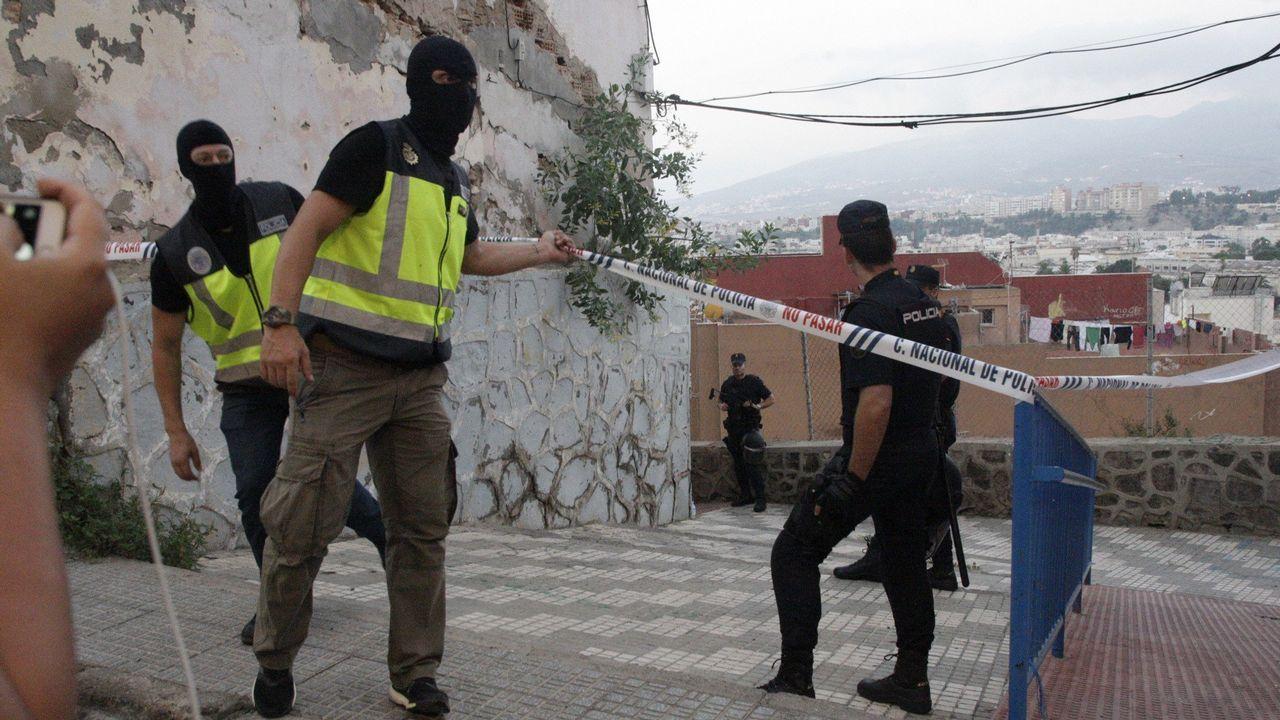 Catuxa Fernández.Operación policial en Melilla