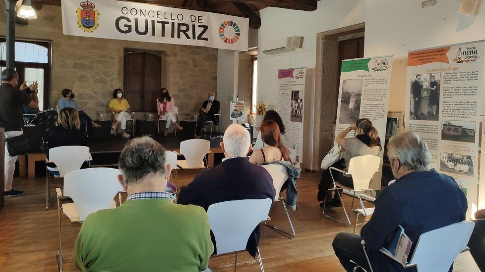 Presentación del festival de poesía de Guitiriz