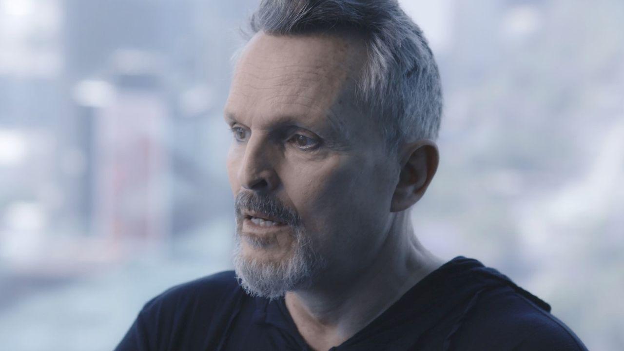 Miguel Bosé, en una imagen reciente en televisión
