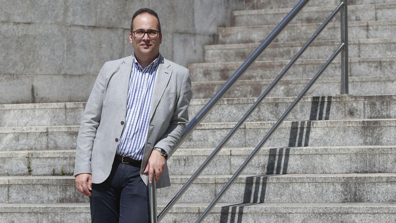 Emilio de la Iglesia, subdirector xeral de coordinación de servicios Transversais