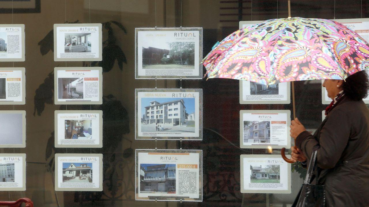 Así detectan las aseguradoras a los estafadores.Inmobiliaria de Os Castros con anuncios de pisos