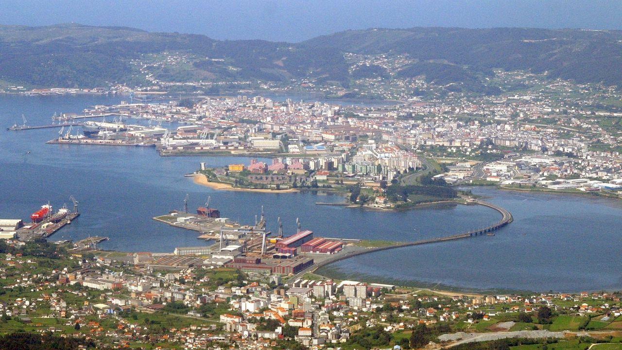 El alcalde de Oleiros fue a declarar esta semana al juzgado denunciado por el Concello de Cambre