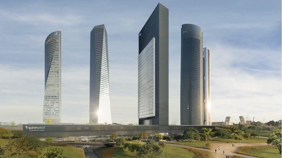 La quinta torre de Madrid se llamará Caleido y abrirá en 2019.El consejero de OHL Javier López Madrid, a su salida de la Audiencia Nacional tras declarar ante el juez Eloy Velasco