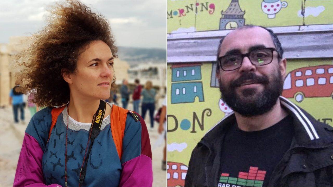 Adriana Páramo, cineasta que reside en Londres desde el año 2008, y Víctor Soto, empresario del sector de márketing on-line
