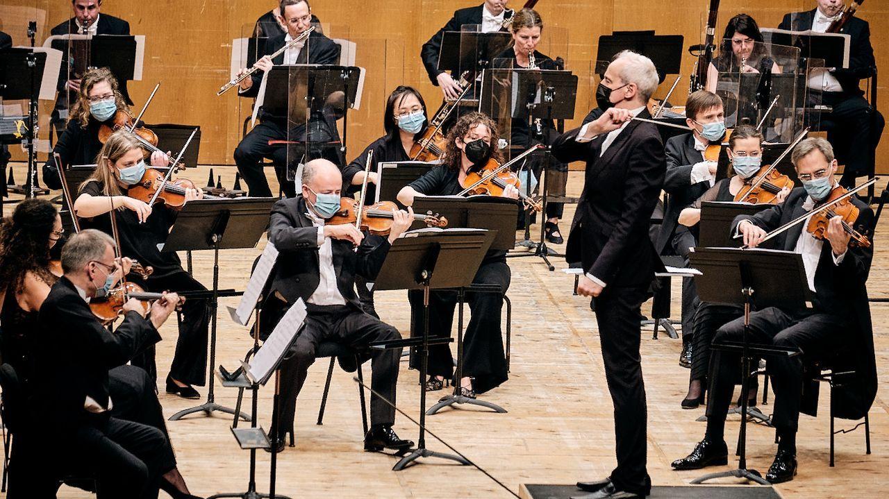 Pelamios, en imágenes.Imagen de archivo de un concierto de la Real Filharmonía