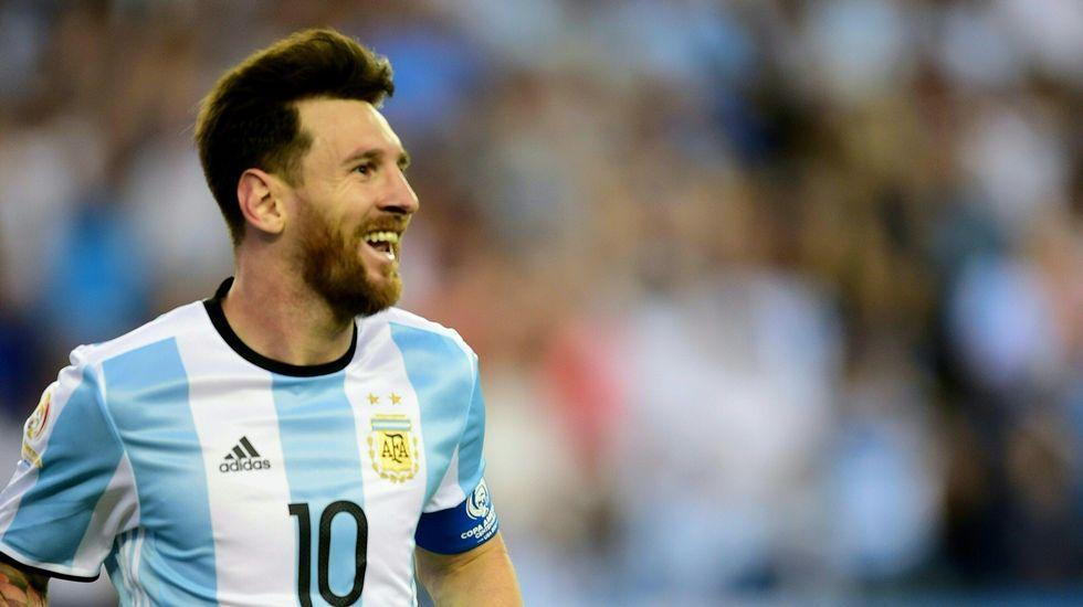 La felicidad de Messi