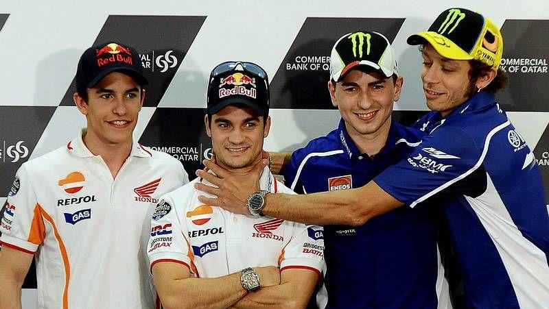 Márquez, Pedrosa, Lorenzo y Rossi parten como favoritos en el Mundial de MotoGP.