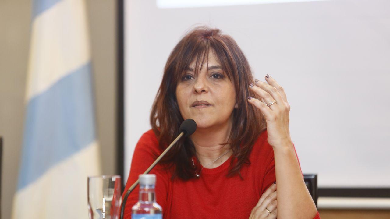 Helena Pérez, directora del IES Maria Sarmiento de Viveiro