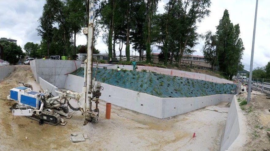 Lugar donde la Xunta ha encontrado agua termal