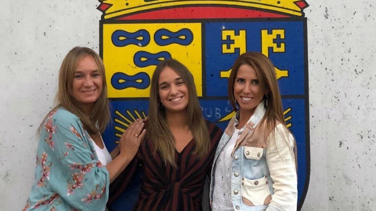 Cristina Teiejeiro (en el centro) dirigirá el nuevo coro y Graciela Galdo y Olga Vigo (a ambos lados) la apoyarán en la parte de técnica vocal y expresión corporal