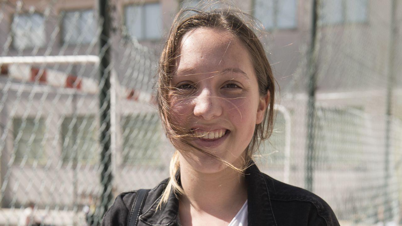 Catrina Martínez, de Dumbría