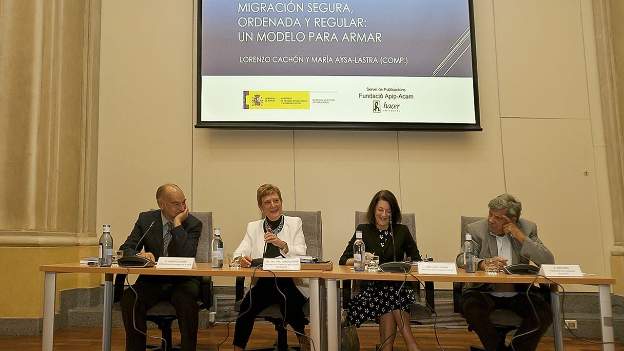 Presentación del libro sobre el Pacto Mundial para la migración segura