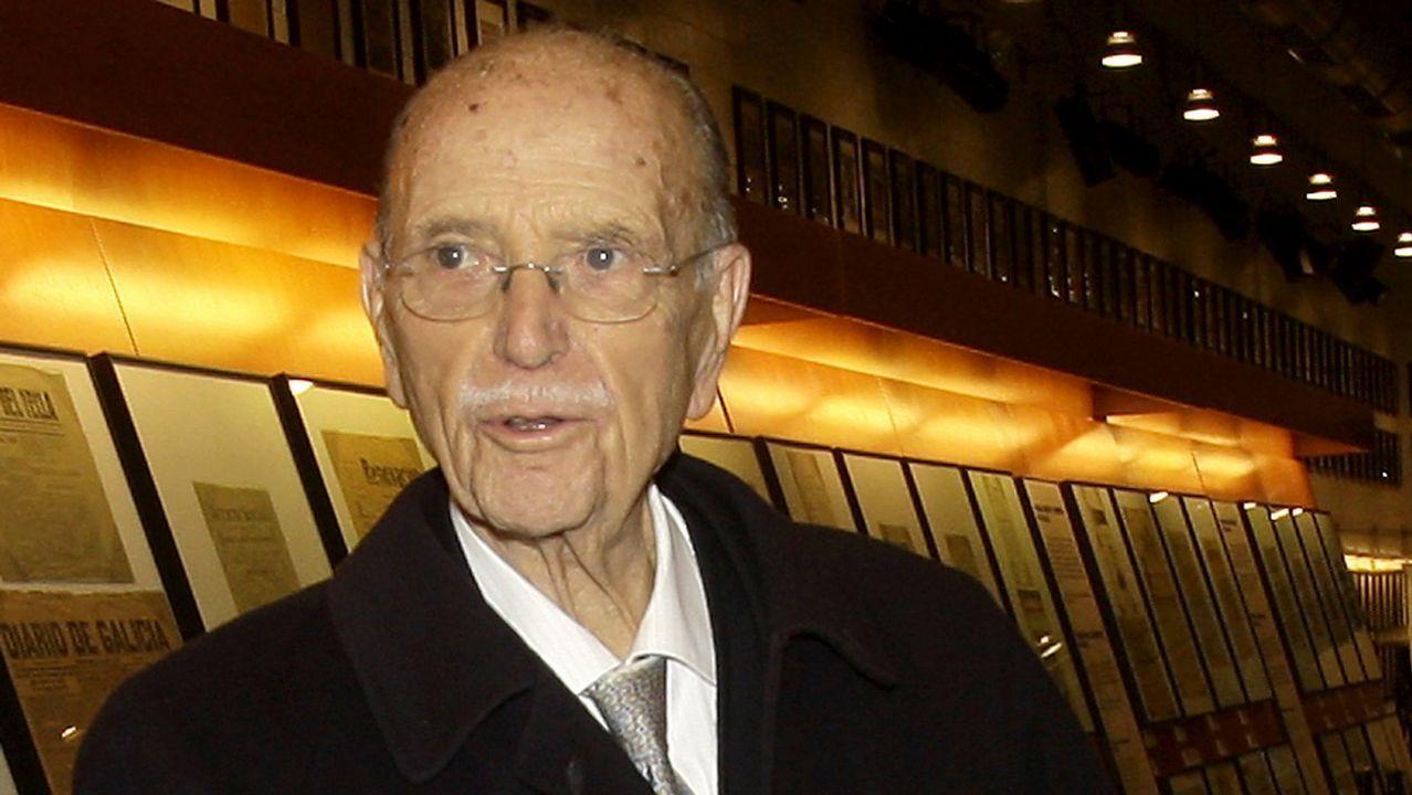 Tres días de luto por el máximo exponente político del «sentidiño».Funeral por Gerardo Fernández Albor