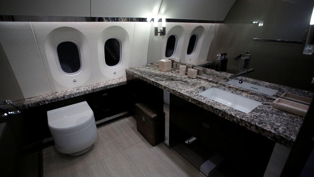 El Boeing Dreamliner que costó más de doscientos millones de dólares, a la venta