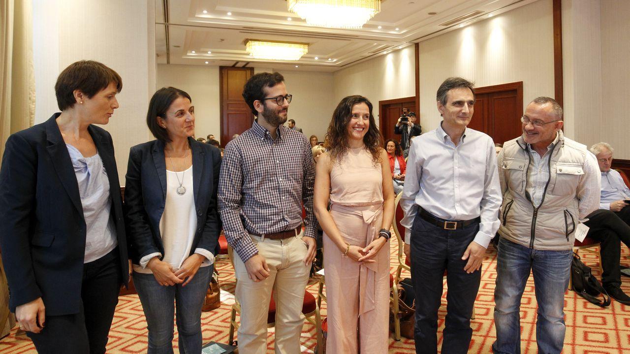 Algunos de los miembros de las empresas que participaron en la jornada de Regalis