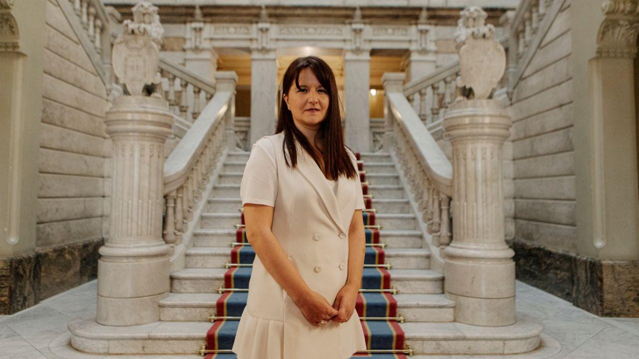 La portavoz de Ciudadanos Laura Pérez Macho
