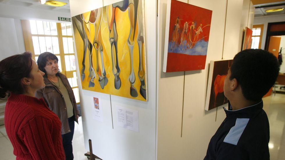 Las mejores imágenes de la carrera de Taboada.Exposición de pintura en el Espazo Xove de Chantada