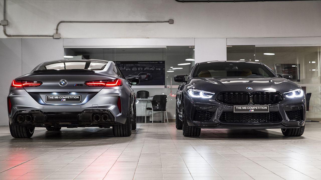 BMW M8 Competition en el concesionario de Autosa, en Oviedo